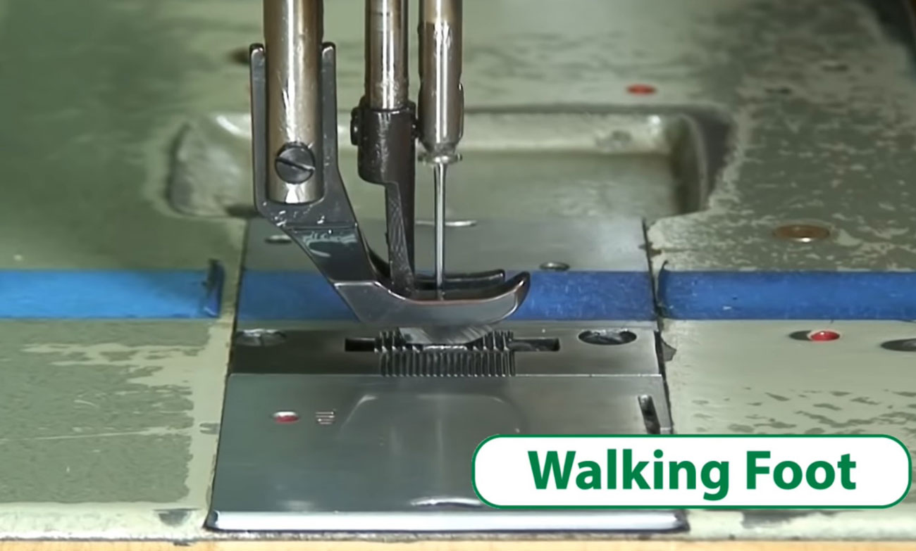 What Is A Walking Foot Sewing Machine The Lucky Needle